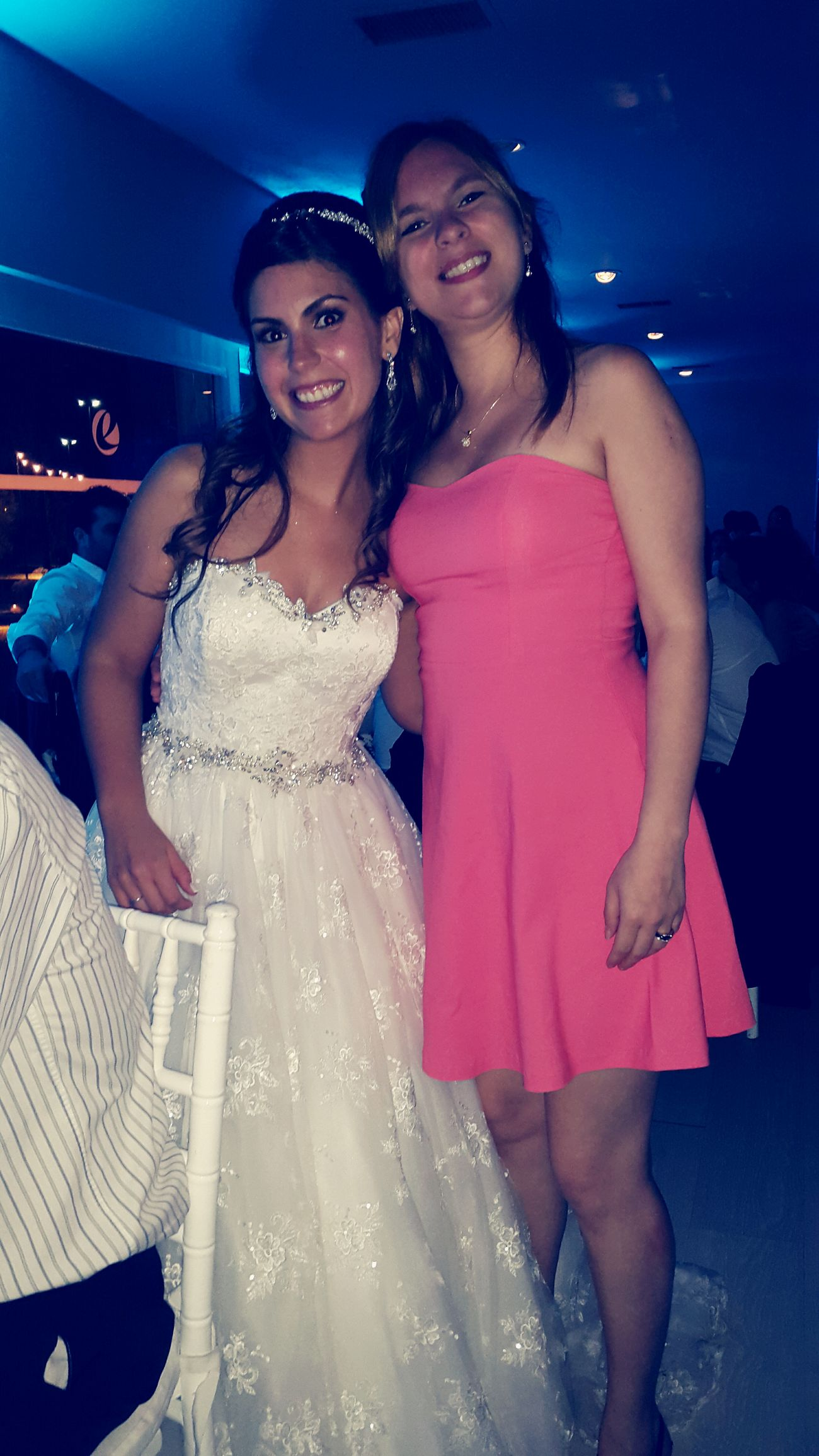 With the must Beautiful Bride !!! Amazing Night Celebrating Love! I Love My Friend!!