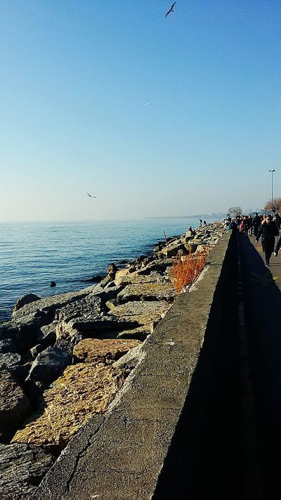 Istanbul Turkey Suadiyesahil Sky_collection Seaside Sea And Sky Sea View Clouds And Sky