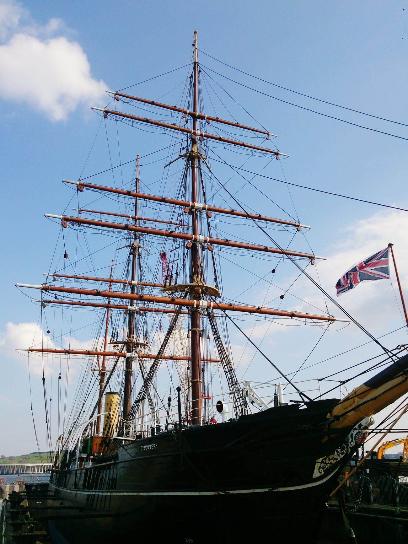 RRS Discovery, Dundee - 24.04.2015 Rrs Discovery Ship Dundee 2015