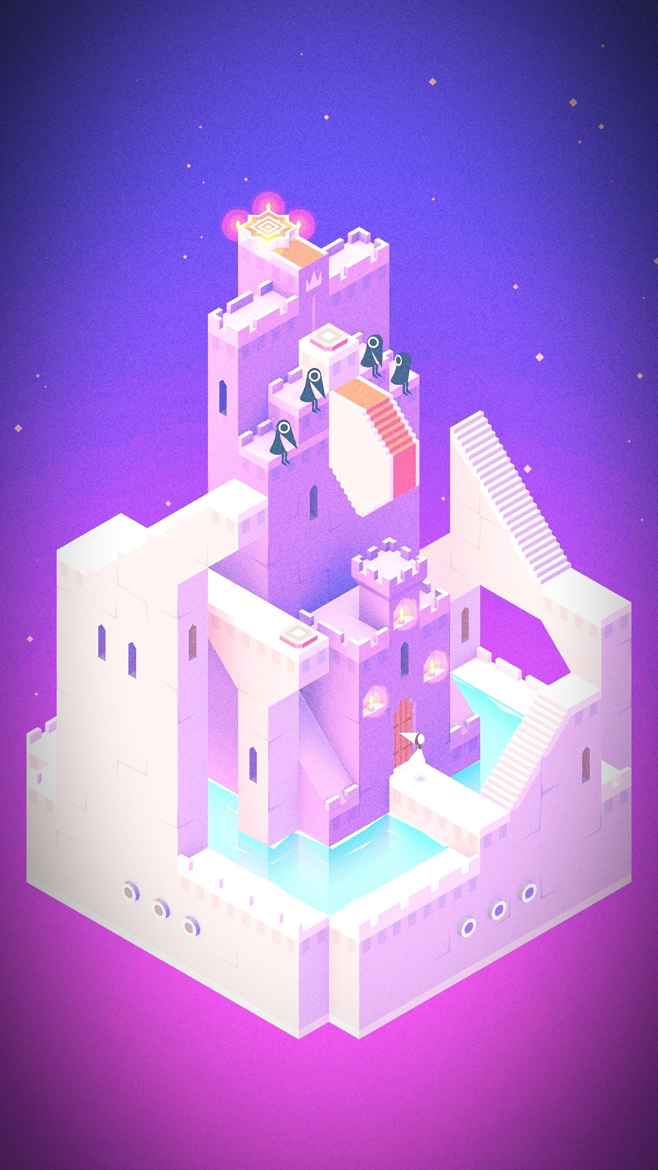 Vaporwave Monument Valley anyone? Vaporwave Monument Valley Badediting
