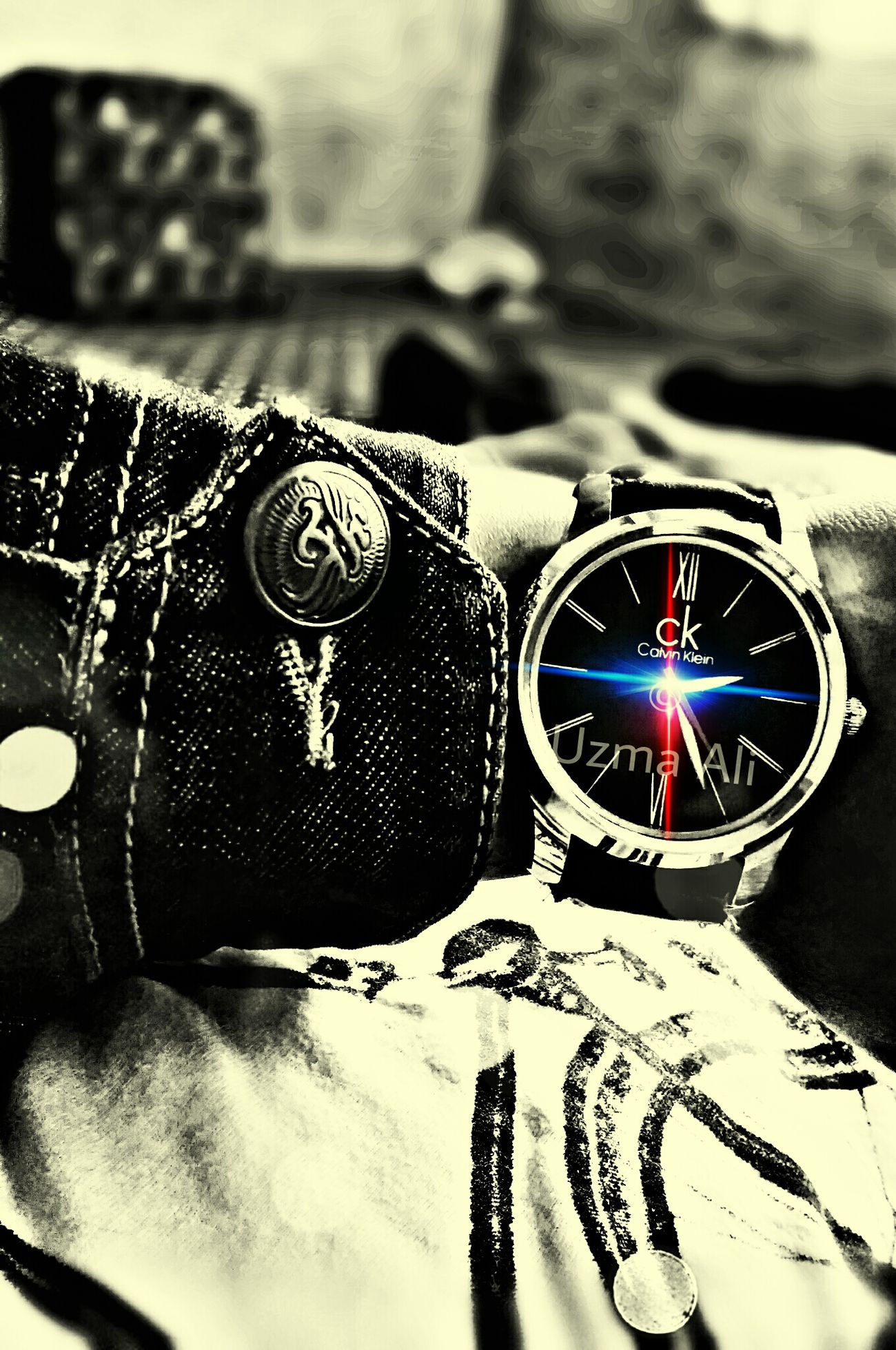 My Calvin Klein Watch Hdr_Collection Flyingmachine Blue Jeans