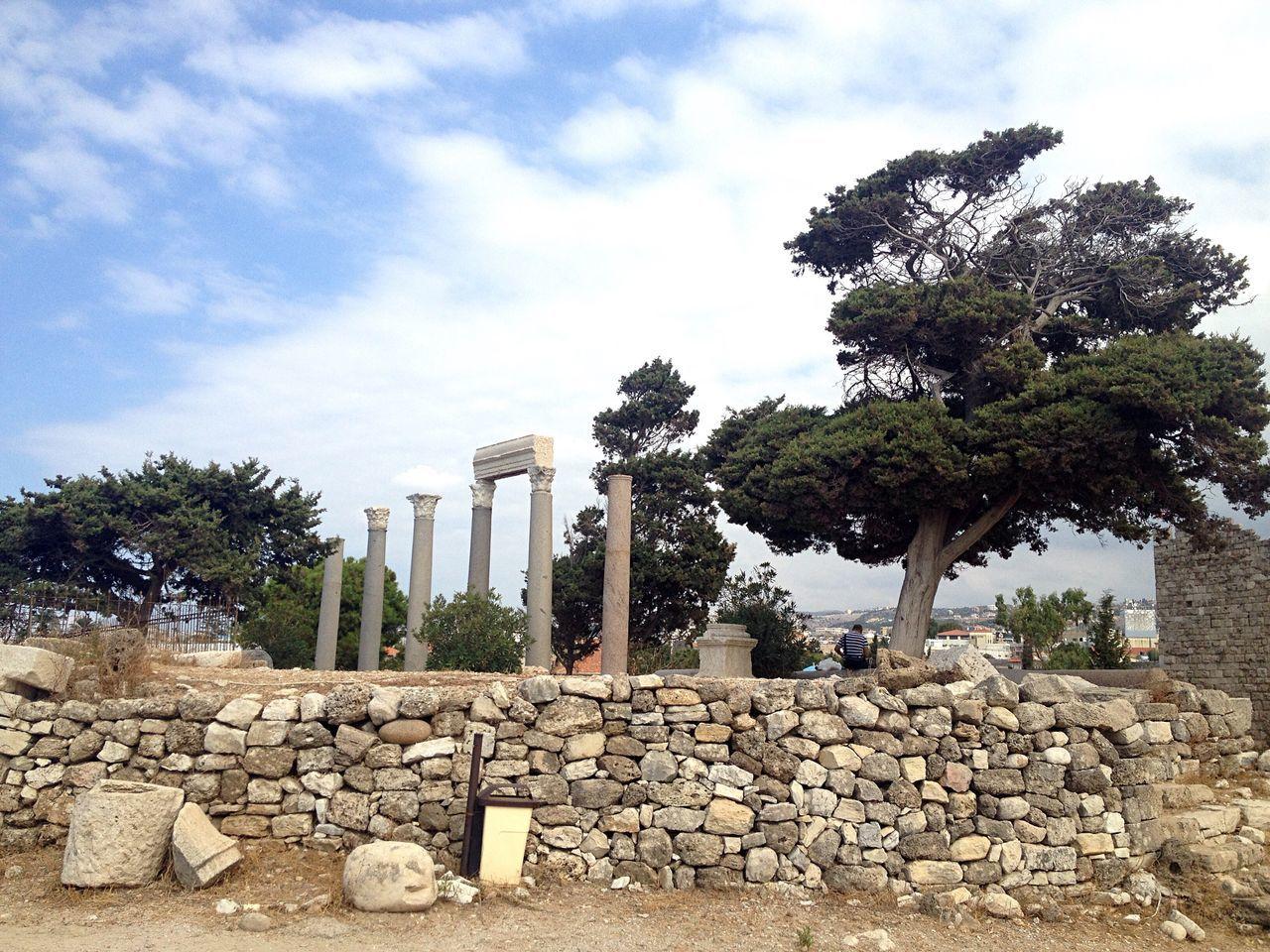 Ruins Byblos Lebanon