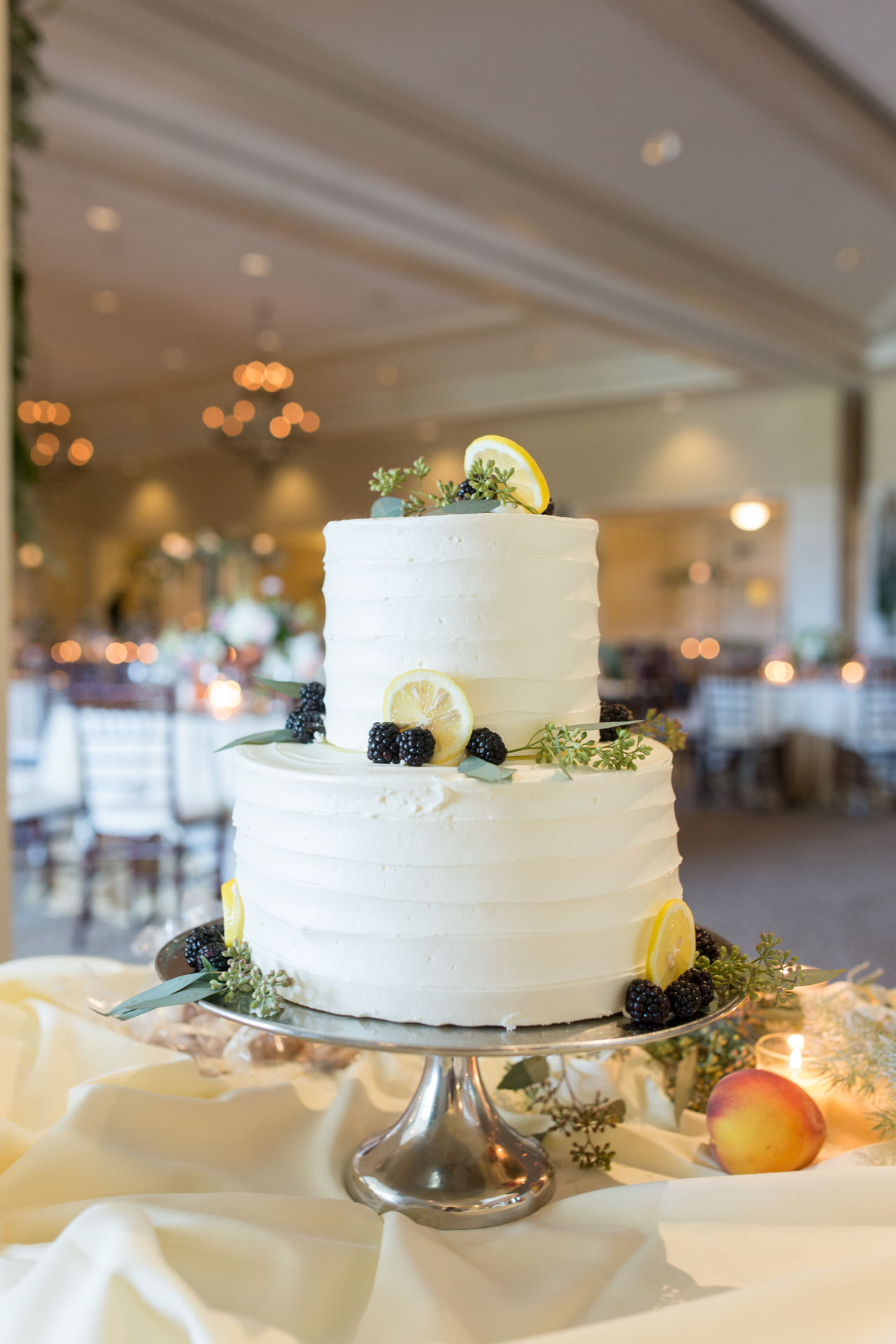 Beautiful stock photos of wedding cake, Blackberries, Cake, Cakestand, Close-Up