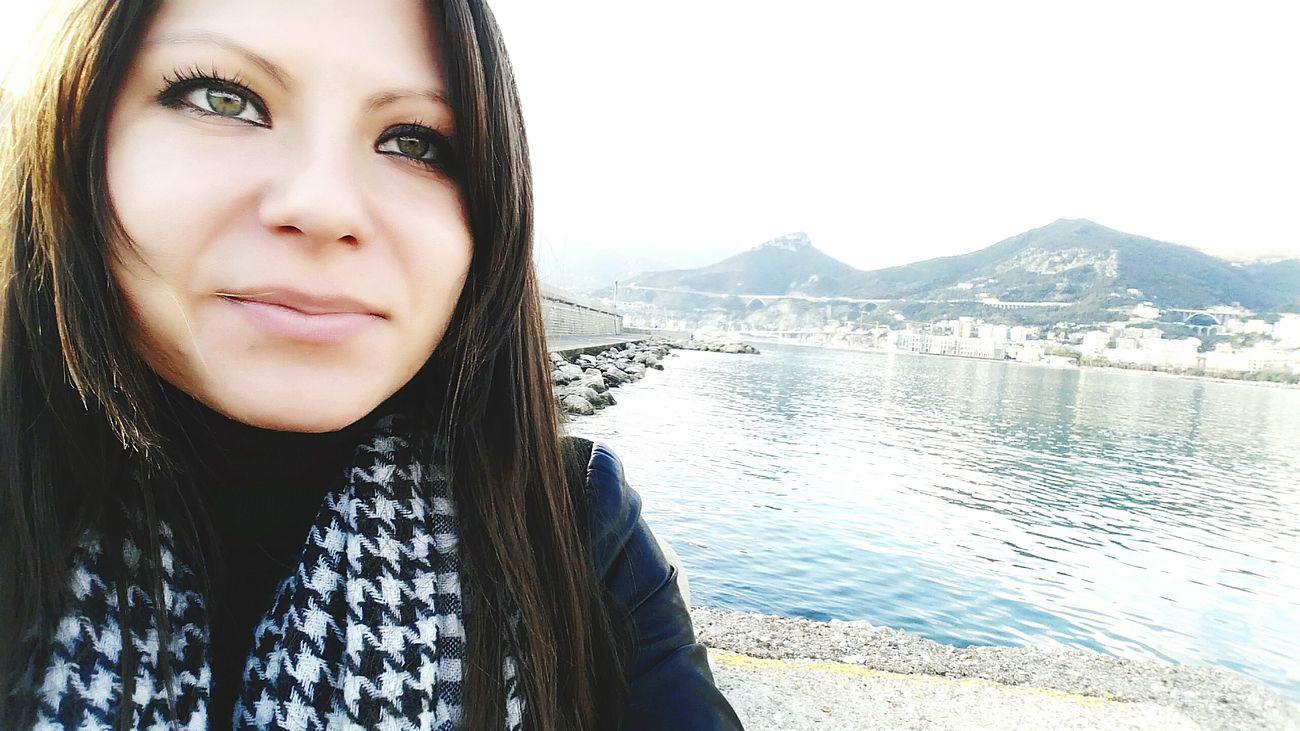 Mare d'inverno! Sea Mare D'inverno Occhiverdi Gli Occhi Sono Lo Specchio Dell'anima.  Porto