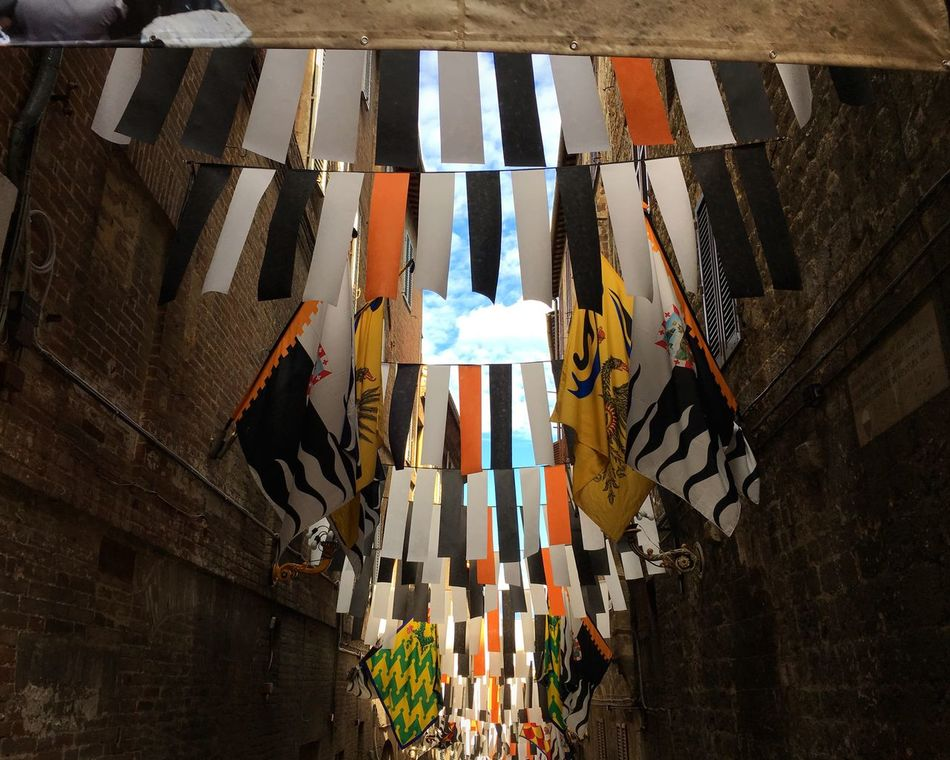 Light And Shadow Multi Colored Building Exterior Architecture No People Taking Photos Siena Italy Palio Di Siena Sky Sky And Clouds Streetphotography Urbanphotography Colors Traveling Maximum Closeness Urban Exploration Travel Photography Travel Italia