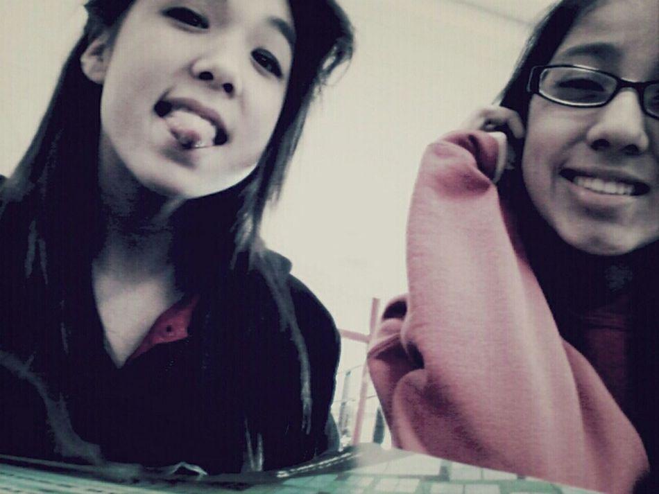 Me and Maya ^.^ #bestfriend ♥