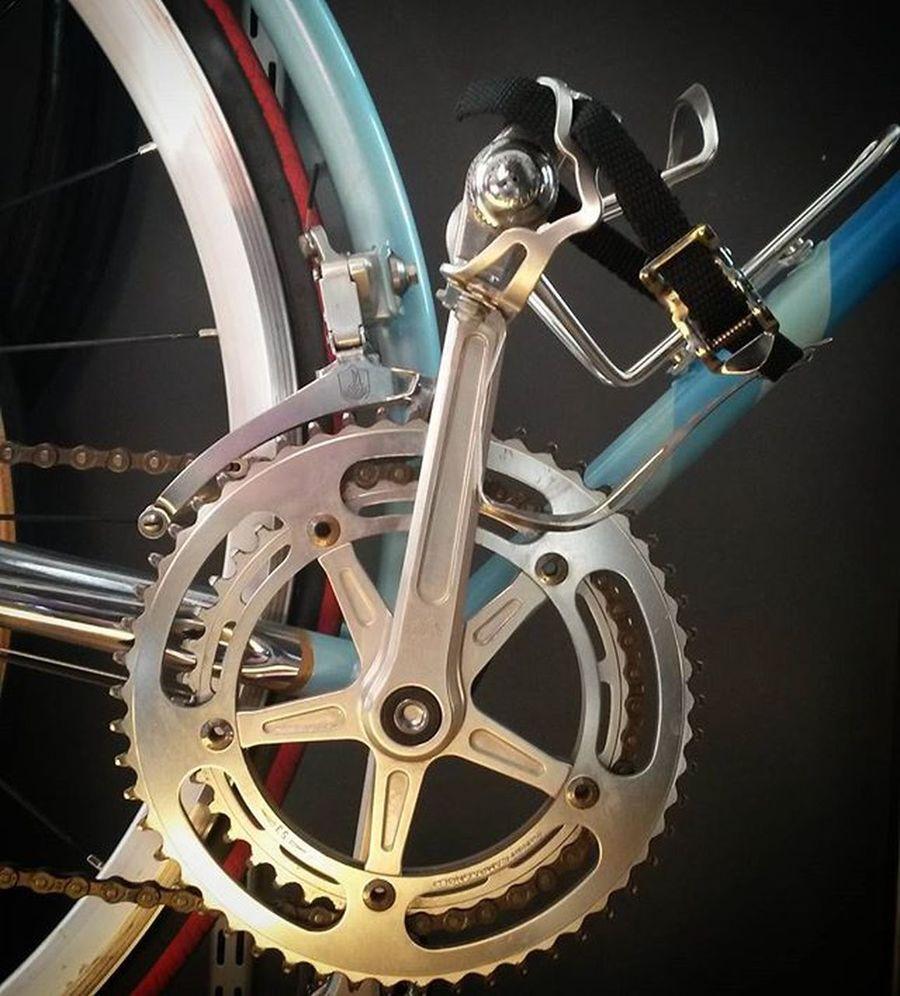 Capagnolo + Ganolo = 💖💕💘💟💞 Campa Campagnolo Ganolo Hiltenbrand Luggedsteel Oldsteel Oldschool Fahrrad Bici Bicycle Bikelife Rennrad Sooninhamburg Hamburg