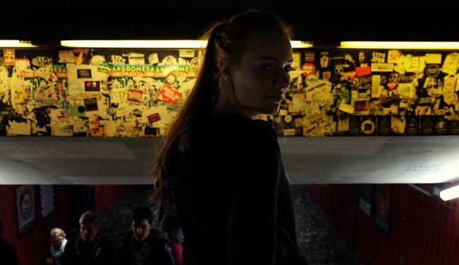 People And Places Weekend Reeperbahn  City Hamburg Evening Light Lifestyles Young Women Person City Life Long Hair Front View Young Adult Bestfriend Love