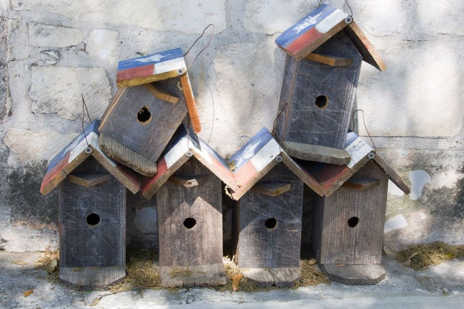 Rusty No People Abandoned Damaged Outdoors Day Close-up Bird House Bird Houses Texas Texas Style For Sale Abundance Wood - Material Wood House Bird Handmade Art Is Everywhere