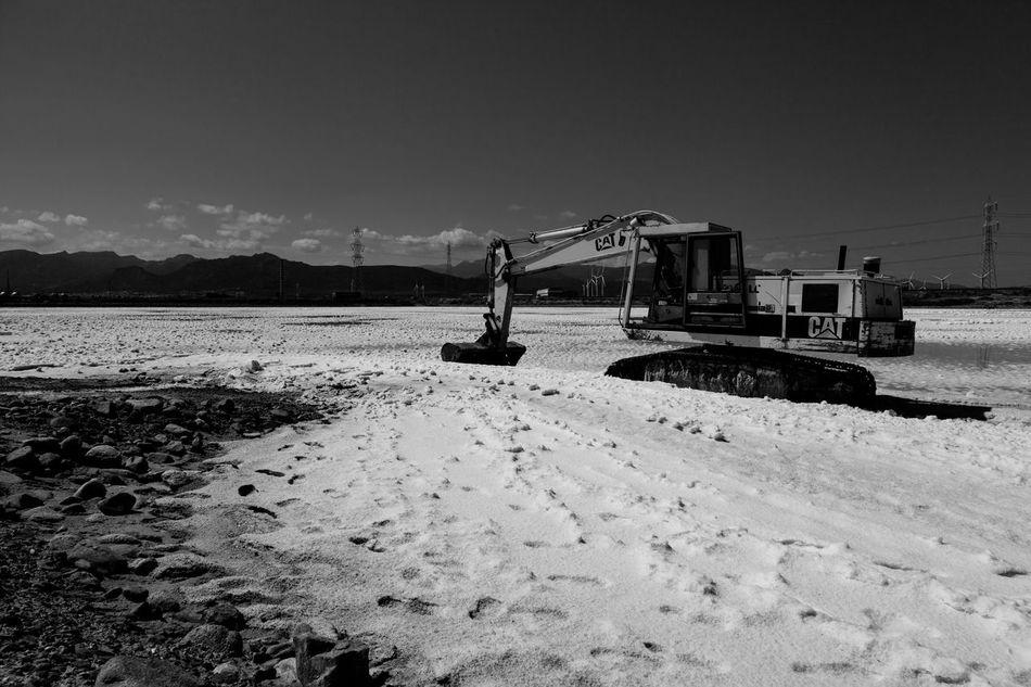 Industria Industrial Industry Lavoro Macchiareddu Ruspa Sale Saline Salt Saltwater Work