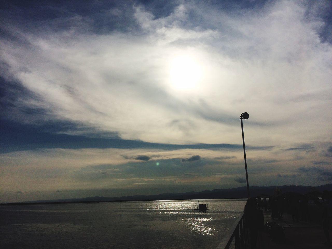 Sunset Sea Sky Nature