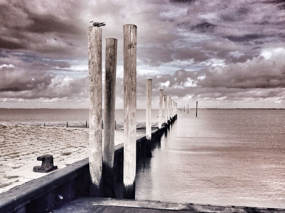 Mittagspause an der Nordsee Nature Clouds And Sky Landscape Water_collection