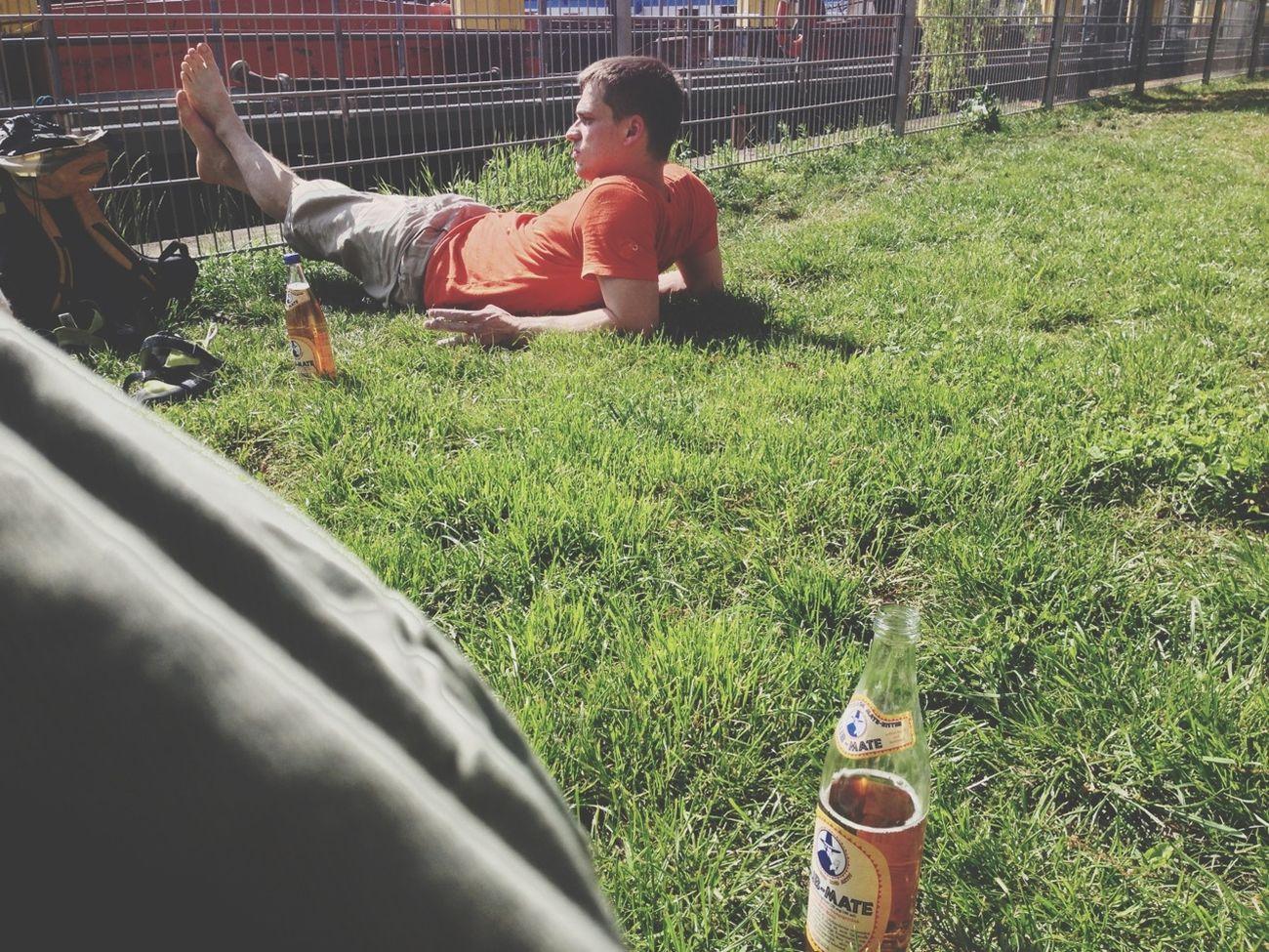 Mate, Kippe, Bouldern