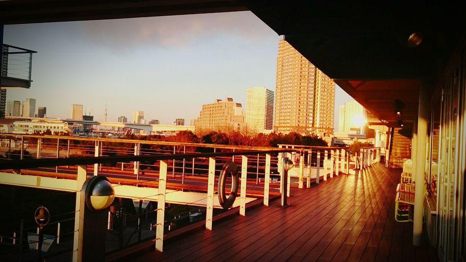 Today's DAIBA お台場海浜公園 Relaxing Hello World Enjoying Life