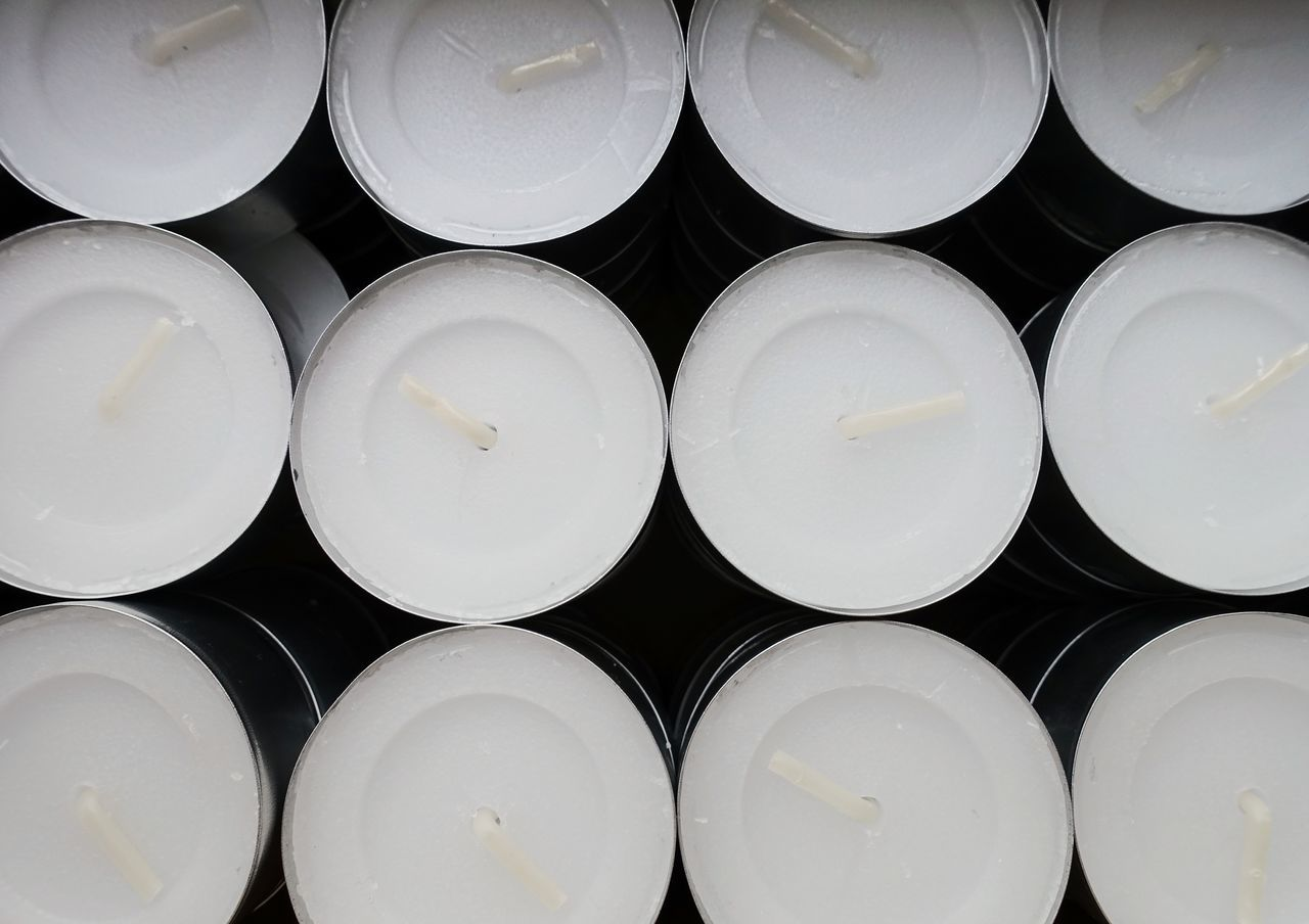 still more Candles Tealights In A Row In A Box Repetition Backgrounds Close-up No People Candle Stock Stockpiling