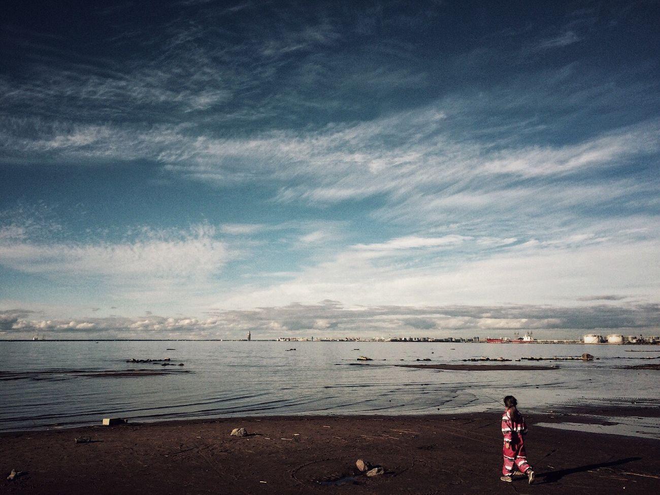 Sky. Spb Sky Landscape st. Peterburg Pietari Gulf Of Finland