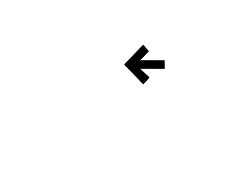 Black Arrow Black Arrow On White Background Guide Minimalism Negativ Space Sign Simplicity Sparse Turn Left White Wall