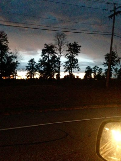 IPhoneography Clouds And Sky Photography Nature End Of The Day Outdoors New York State Photo From My Truck 11/6/15