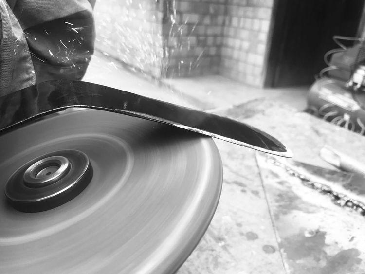 Grinder Angle Grinder Sparks Outdoors Metalwork Metal Black And White Friday