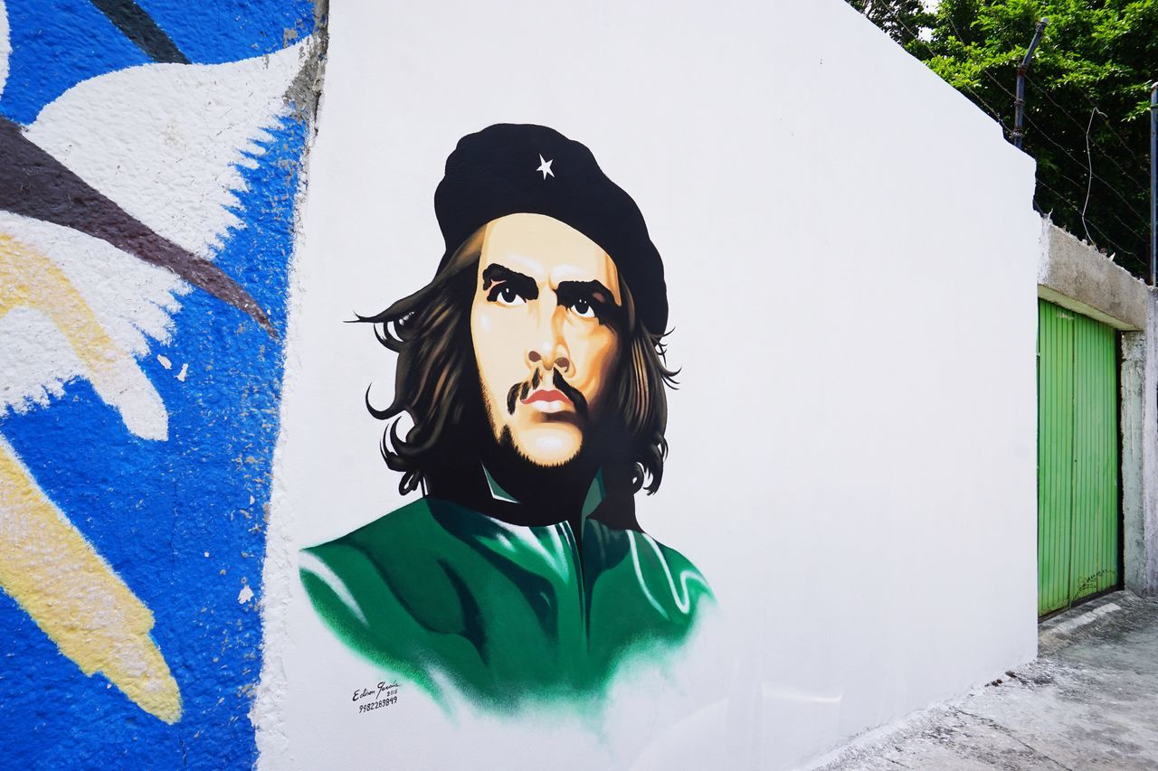 2016 Cancun Che Guevarra Ernesto Rafael Guevara De La Serna Graffiti Graffiti Art Graffiti Wall Mexico Paint Picture Portrait Wall Wall Art Wall Painting カンクン チェゲバラ メキシコ