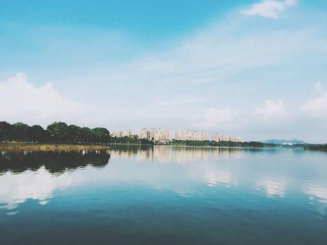 china Guangdong Lake Lakewater