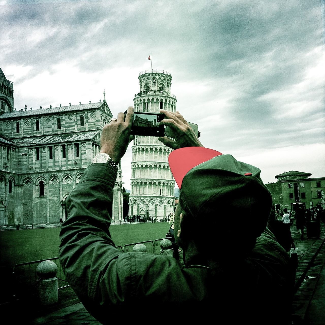 Taking Photos Seeing The Sights Tower Of Pisa Schief Schiefer Check This Out EyeEm Italy The Tourist