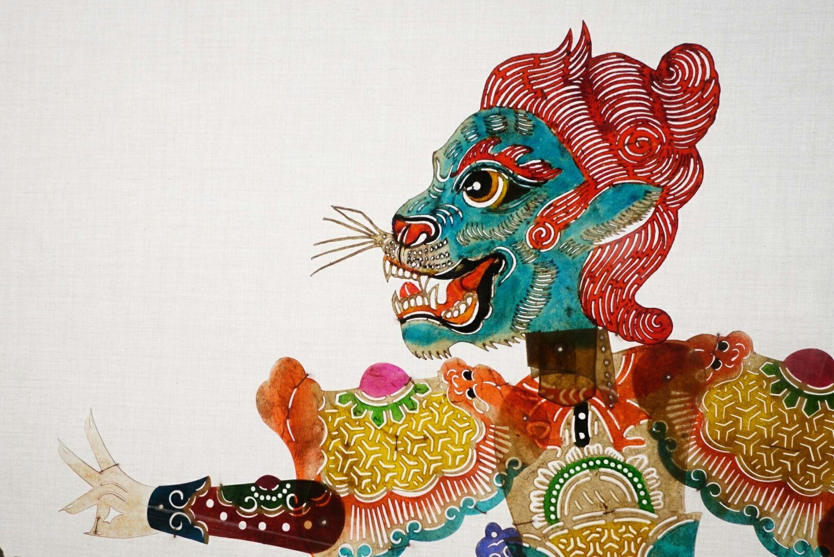 国美 民艺馆 中国 中国美术学院 皮影戏 民艺馆