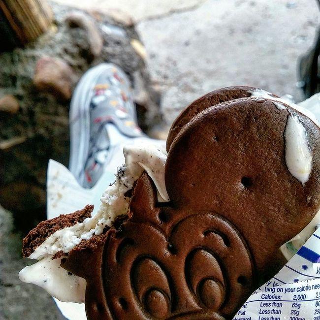 Cooling off Mickey Mouse Icecream! Walt Disney World Disney's Animal Kingdom Mickey Mouse Vans Instagram Pics Latergram