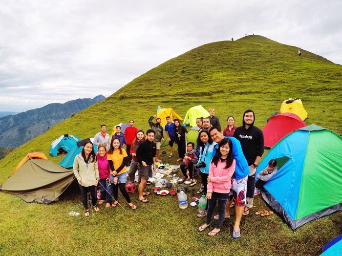 Bunch of hommies Itchyfeet People And Places Goprophotography Itsmorefuninthephilippines Travelphotography Outdoors Travelph Thegrind Mountain Climbing Hikingadventures Hiking Trail Mount Ulap Mountain