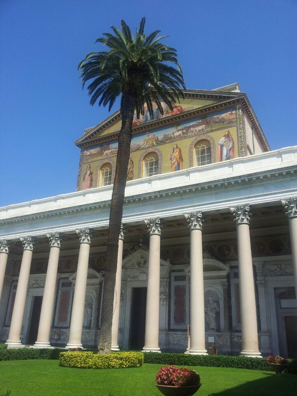 EyeEm_Church_Collection Basilica Di San Paolo Fuori Le Mura Church Palmtree EyeEm Rome Rome Basilica