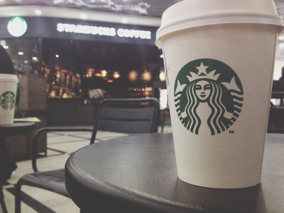 Coffee Break Starbucks Coffee Nice Day