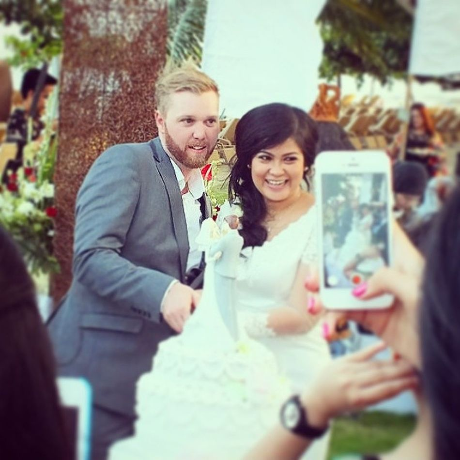 Zera & Mike Wedding at Prama Sanur Beach Baliisland INDONESIA