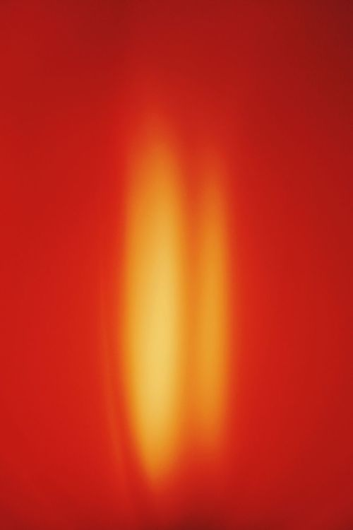 I AM Phoenix BURN! Abstract Orange!