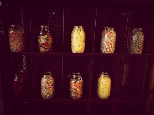 candy at Shoreditch House by Stephanie