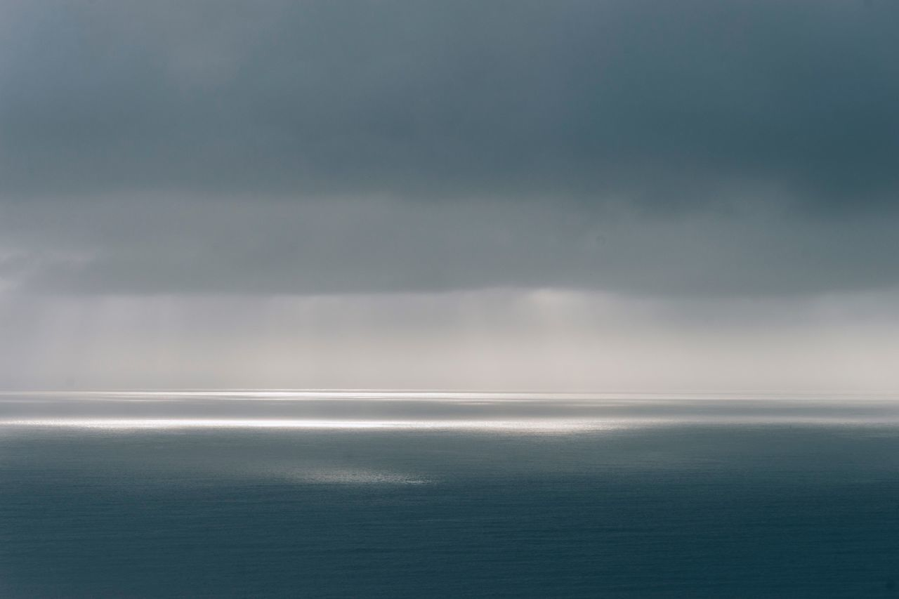 Sea Scenics Tranquility Beauty In Nature Tranquil Scene Nature Water Horizon Over Water Idyllic No People Sky Day Landscape Outdoors Rural Poetry