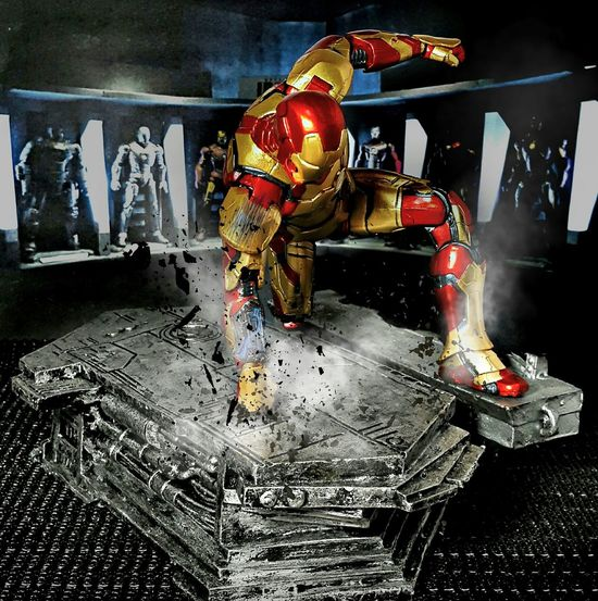 EPIC LANDING... Action Figures Toyphotography Marvelmovies Marvel Theavengers Iron Man Toygallery