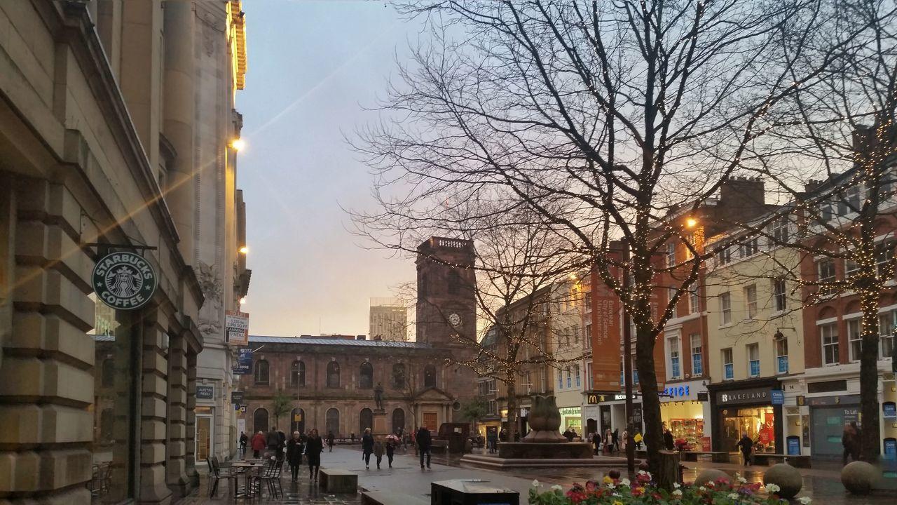 Sunset Manchester St Ann Square