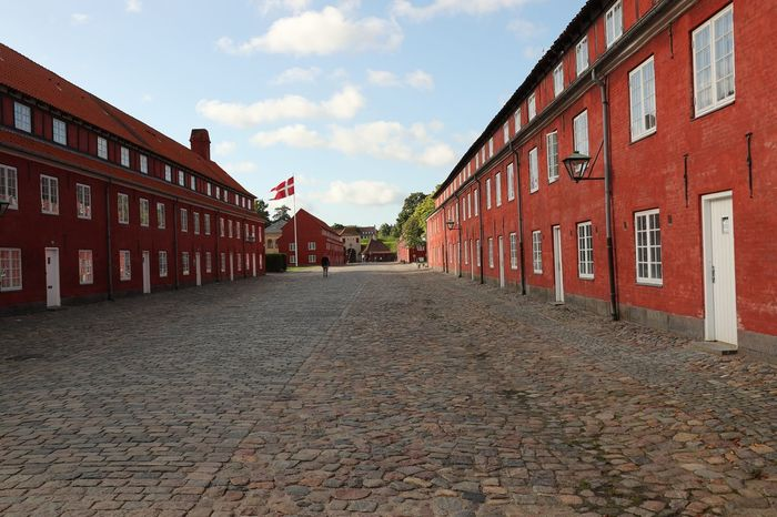Building Exterior Architecture Built Structure Cobblestone Sky Cloud - Sky Outdoors Day No People Red City Denmark Kastellet