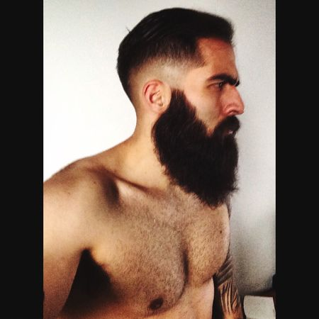 Bearded Beard Barba Beardgang Boy Tattoo That's Me Hello World Cheese! Check This Out