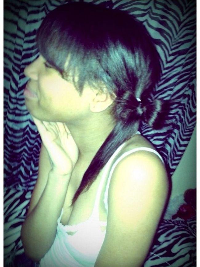 Sister Did My Hair.!!!