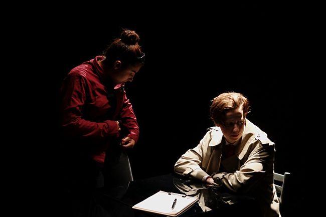 Person Film Short Film Set Up Performance Talent Actors Film Set People