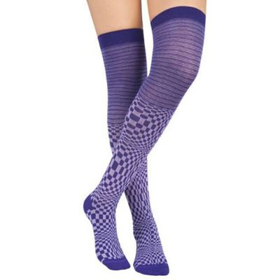 Harlequin over the knee socks CE46 at Www.esexymale.com We Rock Fashion Esexymale.com
