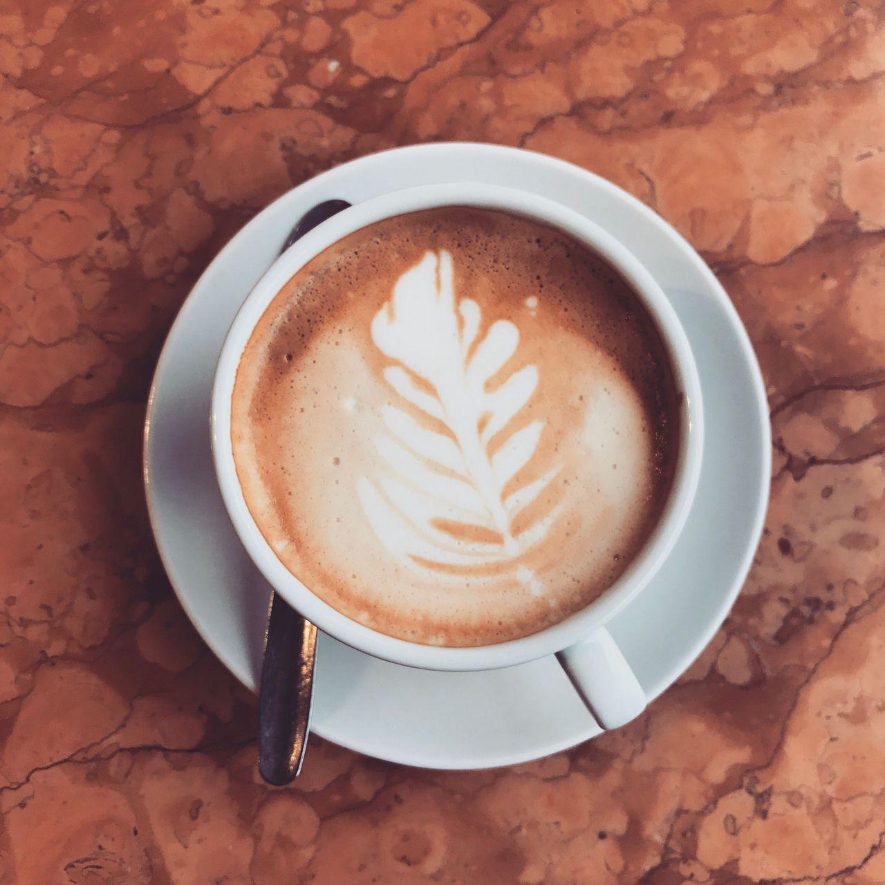 Coffee Cup Cappuccino Bavaria Germany Munich Coffee