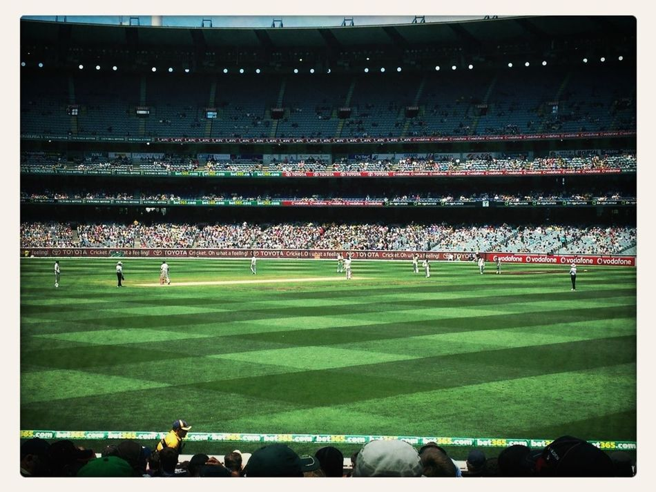 Day 3. Boxing Day test. MCC