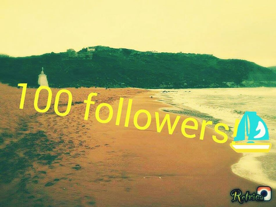 100 Followers Excited Happy Follow Me Loveyou Thank You Beach Golden Sand Taking Photos Hello World 📷🎆🎇🎉🎊🎁💓💕😘😀😁😂😄😱