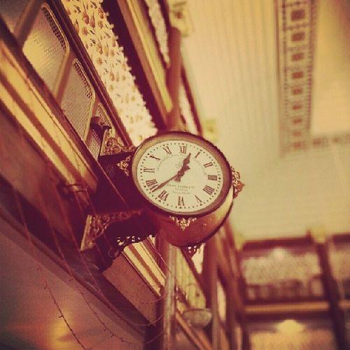 Favre -leuba Swissmade A two sided clock in najmi hall Sidhpur