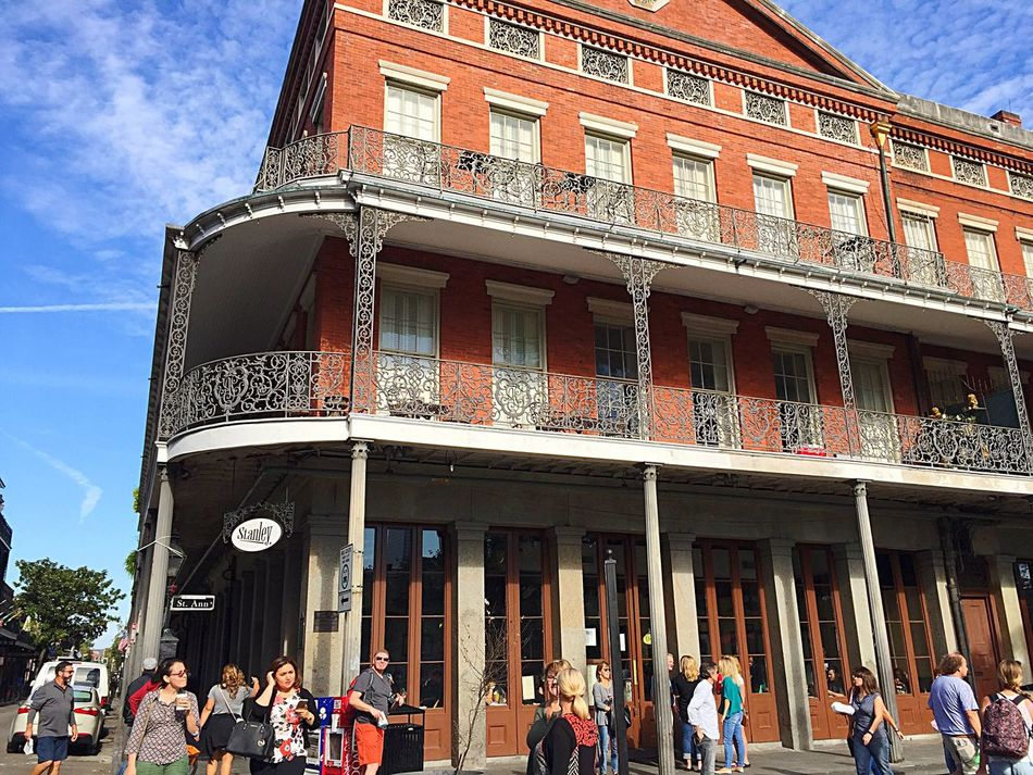 Architecture Building Exterior Built Structure Large Group Of People Jackson Square Lifestyles Outdoors Low Angle View Women Day Men Sky People Adults Only Adult