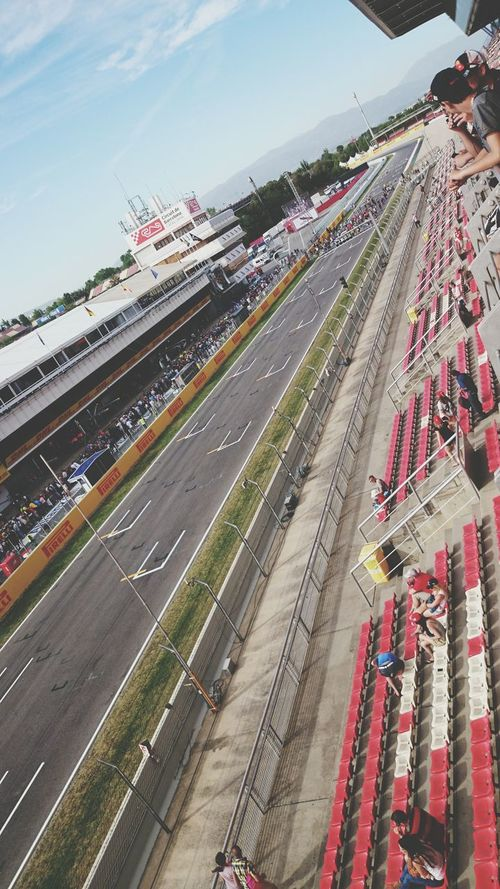 Race Driving Montmeló Barcelona SPAIN Grand Prix  Formula 1 Circuit De Catalunya Start Driver