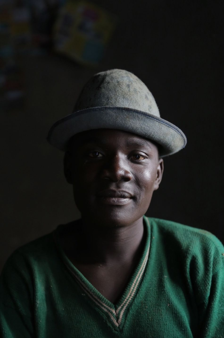 I'm currently in Rwanda hiking the Congo-Nile trail. Pregnant with rain the sky opened up and Cyriaque invited me inside to shelter from the rain. Portrait Portrait Of A Friend Rwanda