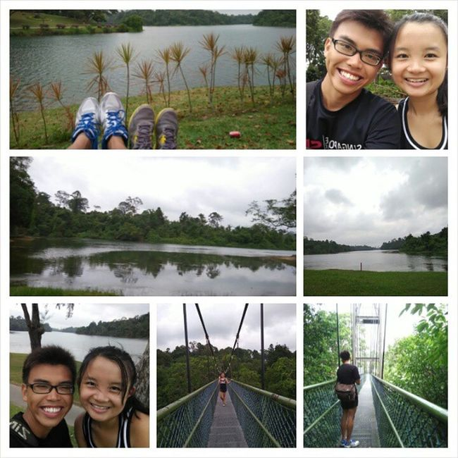 Walked until our legs break 👫👫👫 Yay Finallytreetop FirstTime Withloves hehe potd